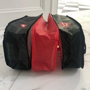 lululemon athletica Bags - Lululemon Shopping Bags- Set of 3